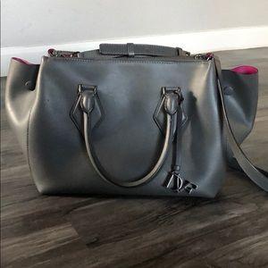 Authentic Diane von Furstenberg Leather Satchel